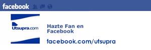 HAZTE FAN DE UTSUPRA EN FACEBOOK
